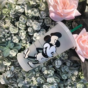 Custom Mickey Mouse Starbucks reusable cold cup